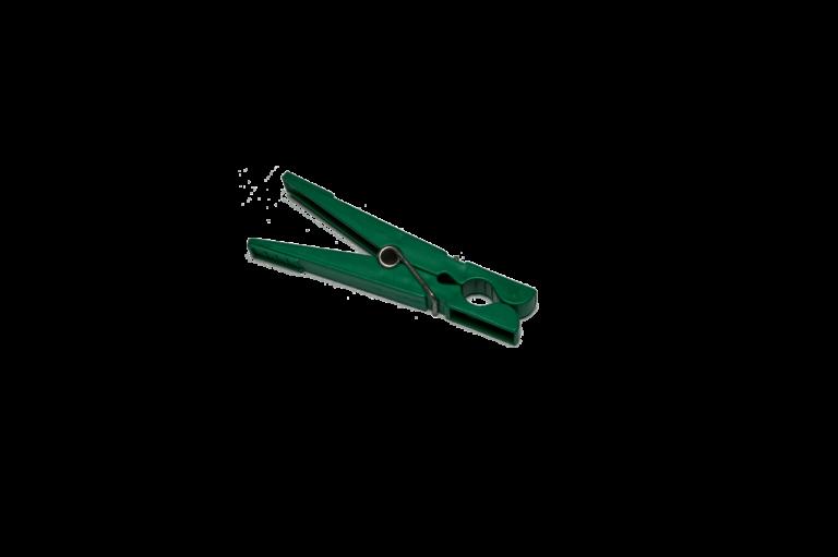 green clothes pin
